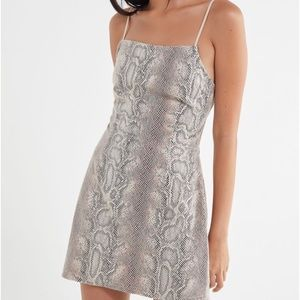 UO Snakeskin Dress